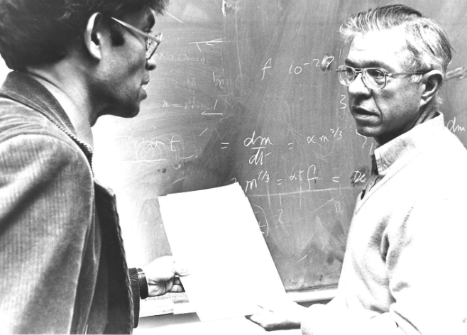 Sir Fred Hoyle and Chandra Wickramasinghe